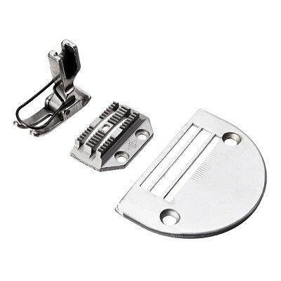 Heavy Needle Plate+Feed Dog+Presser Foot Set for JUKI DLN-415 DLN-5410 DLN-9010