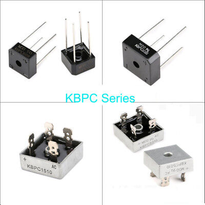 KBPC Series Bridge Rectifier KBPC608/610/1010/1510/2510/3510/5010 6~50 Amp