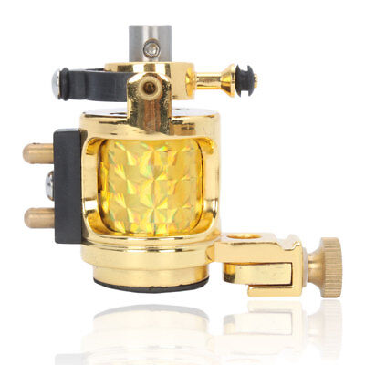 New Multi-use Rotary W5 Motor Tattoo Machine Gun for Liner & Shader Gold Color