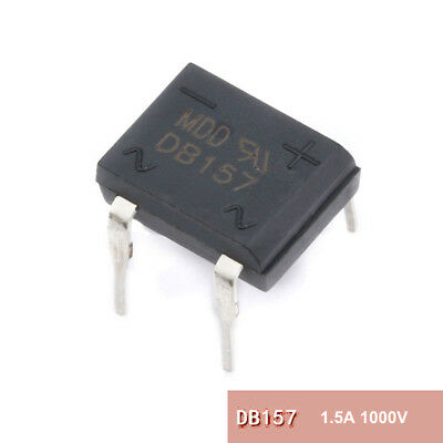 DB157 Bridge Rectifier Diodes 1.5A 1000V 1.5 Amp 1KV 1000 Volt DB-157