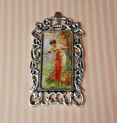 Classical painting 1:12th scale dolls house picture edwardian victorian DH6