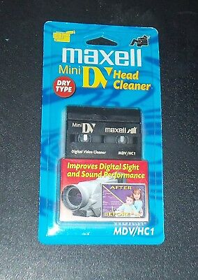 Mini DVD Head Cleaner - Dry Type - Maxell - New In Package