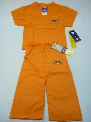 GelScrubs Kids Unisex Medical Scrub Set Shirt & Pants Tennessee Volunteers Logo