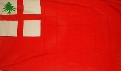 3x5 First New England Flag Ensign Banner Colonial Pennant Reolutionary War