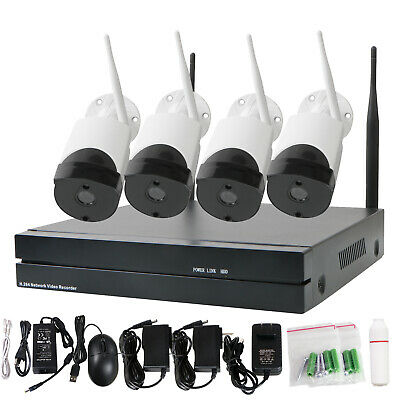 1080p Network Camera Wifi 8CH NVR HD IP Outdoor Wireless Security Camera System