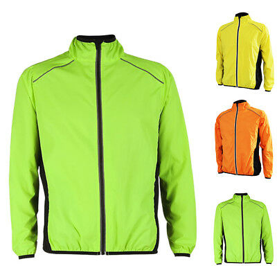 Men Sports Cycling Breathable Wind Jacket Coat Waterproof Running Gym Chic Tops