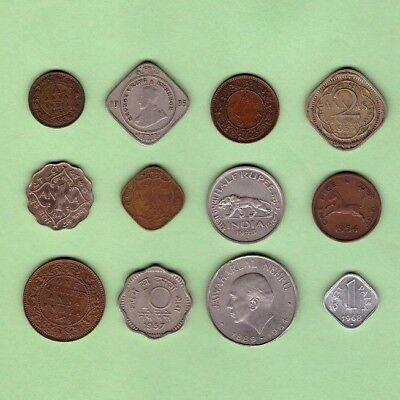 India (1921-1968)  - Coin Collection Lot # X-84 - World/Foreign/Asia