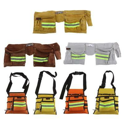 Reflective Electrical Maintenance Tool Pouch Bag Technician Tool Holder Bags