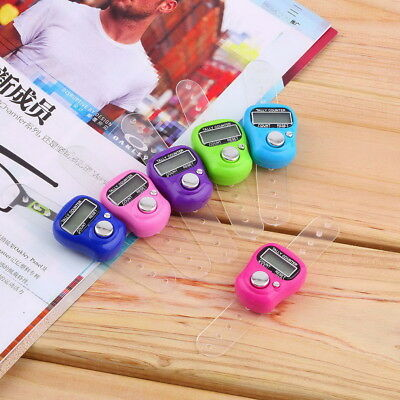 Stitch Marker And Row Finger Counter LCD Electronic Digital Tally Counter Random