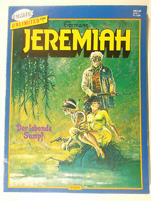 Comics Unlimited #  1 Jeremiah ( Ehapa Verlag 1986-1987, Softcover ) Z 2