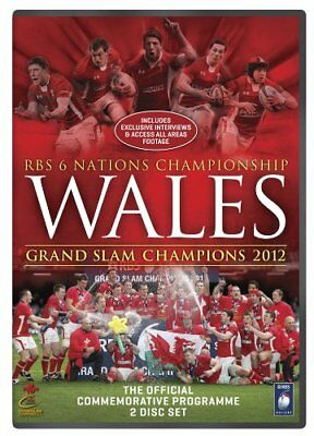 Wales Grand Slam 2012 RBS 6 Nations Review 2 DISC SET Inc exclusive Interviews