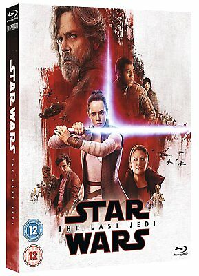 Star Wars The Last Jedi Limited Edition The Resistance Sleeve Blu-Ray English