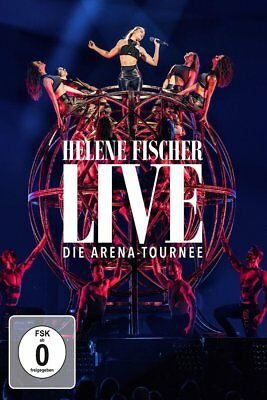 Helene Fischer Live Die Arena Tournee 2 Dvd + Blu-Ray + 2 Cd Limited Fanedition