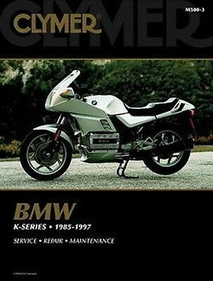 BMW K1 K100LT K100RS K100RS-ABS K100RT 1985-1997 Clymer Manual MS500-3 NEW