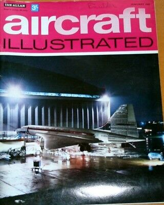 Aircraft Illustrated 1969 January Andreasson,CP Air,Luftwaffe,Avro 504K
