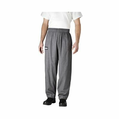 Chefwear 3500-32 Medium Charcoal Ultimate Chef Pants
