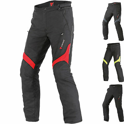 Dainese Tempest D-Dry Motorcycle Trousers Motorbike Waterproof Textile Pants