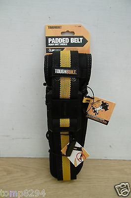 Toughbuilt Heavy Duty Clip Fitting Padded Belt Ct41B