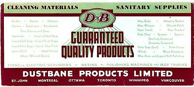 Dustbane Products Ink Blotter Cleaning Materials Sanitary Supplies wolu6