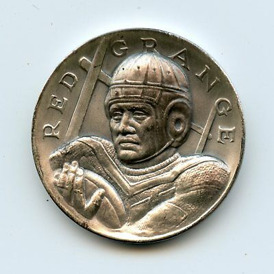 Red Grange The Gallopin Ghost 1924  .999 Silver Commem Coin/Medal