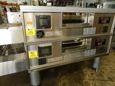 2010 Middleby Marshall Ps670/770 Wow! Gas Fired Conveyor Pizza Ovens Nat Gas