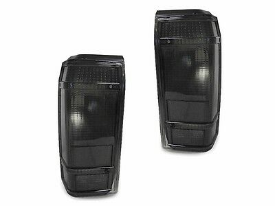 Smoke Tail Lights Lamps Left + Right For 1984-1990 Ford Bronco II Pickup Truck