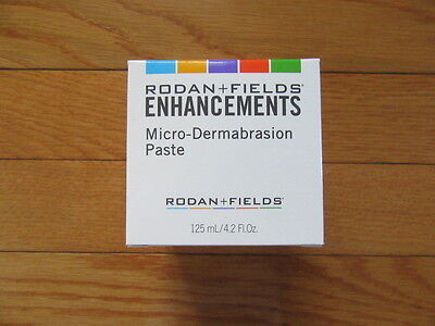 Rodan + Fields Microdermabrasion Paste, Nib $80, Fresh!! 125 Ml/4.2 Oz