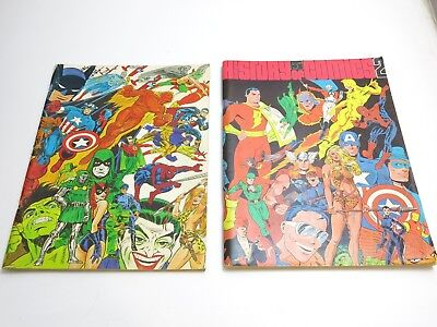 Vtg 1970 1972 The Steranko History Of Comics Vol 1 And 2 Oversized Supergraphics