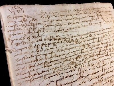 Old Document 1545