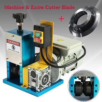 Electric Wire Stripping Machine Metal Scrap Cable Peeling Stripper +Cutter Blade