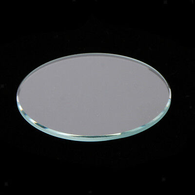 10 Pieces/Lot Flat Mineral Glass Watch Replacement Parts 1mm Thick Accessory