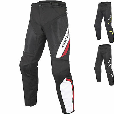 Dainese Drake Air D-Dry Motorcycle Trousers Motorbike Protective Textile Pants