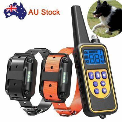Electric Rechargeable Remote Control Dog Training Collar Anti Bark Pet Trainer