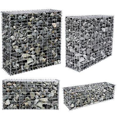gabions cages pierres cl tures de jardin jardin. Black Bedroom Furniture Sets. Home Design Ideas
