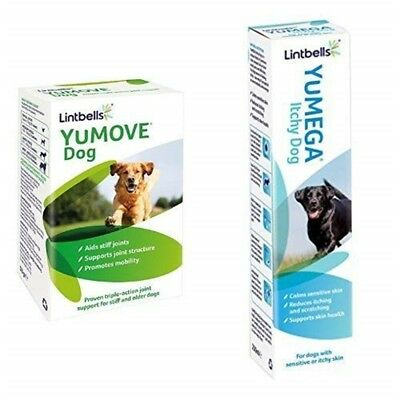Lintbells Yumove Dog Joint Supplement Tablets For Stiff And Older Dogs, 60 Each