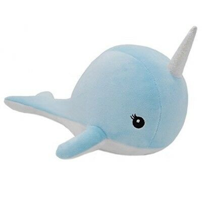 Cushion Whale Unicorn - Plush Narwhal Kawaii Cute Soft Sea Items Style x
