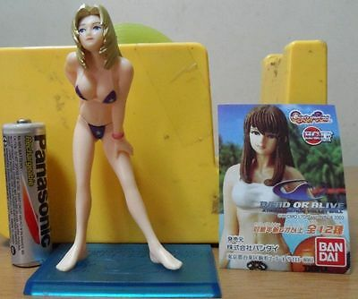 DOA Dead or Alive Gashapon Figure Part 1 Sexy Beach VolleyBall - Tina Armstrong