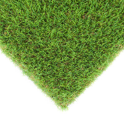 Hickory 40mm Natural Realistic Artificial Grass Astro Turf 2m 4m CHEAP £8.95m²!