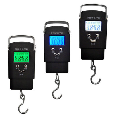 50KG 10g Digital Electronic Scale Hanging Hook Fishing Luggage Weight Scale