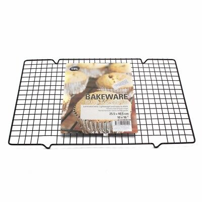 """16"""" Large Non Stick Wire Baking Cooling Tray Cookies Muffins Biscuit Rack Stand"""