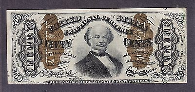 US 50c Fractional Currency Note FR 1331 AU