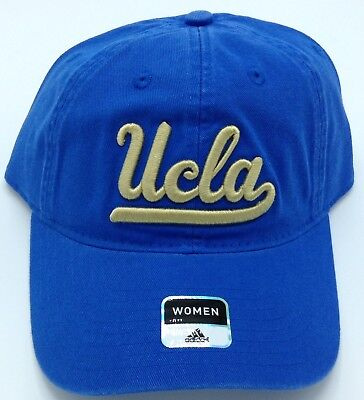 NCAA UCLA Bruins Adidas Womens Adjustable Fit Slouch Curved Brim Cap Hat  NEW! 30d9688d8
