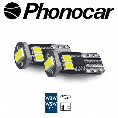 Phonocar 07710 LAMPADE LED 3G6-T10W LUCE POSIZIONE T10