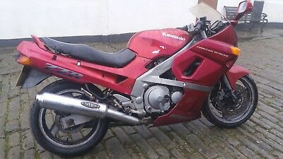 Kawasaki ZZR600 1991 Spares Or Repairs Project Cafe Racer Street Fighter