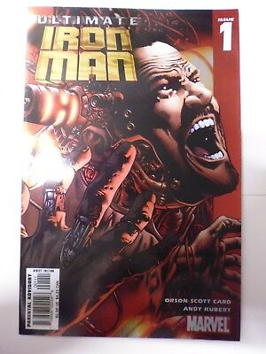 Ultimate Iron Man Issue # 1.  Marvel. May 2005. Chromium Cover.  High Grade