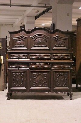 Cupboard Style Baroque Piedmont, Period First Half Of The '900 / Cupboard