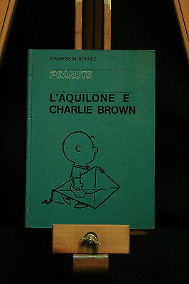 "Charles M. Schulz ""l'kite Flying And Charlie Brown"" Milano Libri 1965 / Fumetti"