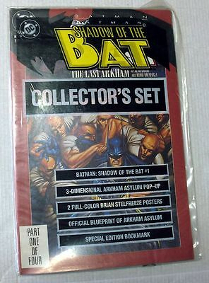 Dc Comics Batman Shadow of the Bat N.1 Collector Set Book English New