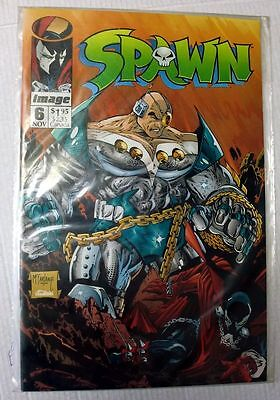 Image Comics Spawn #6 First Print Book English near Mint