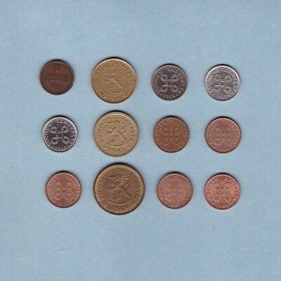 Finland (1905-1968) - Coin Collection Lot # X-91 - World/Foreign/Europe